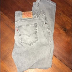 Levi's Jeans - Levi 511 - slim fit — gray